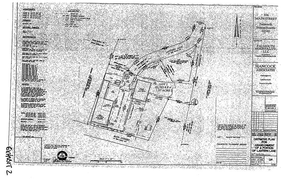 GOULD vs  FALMOUTH PLANNING BOARD, MISC 14-485074